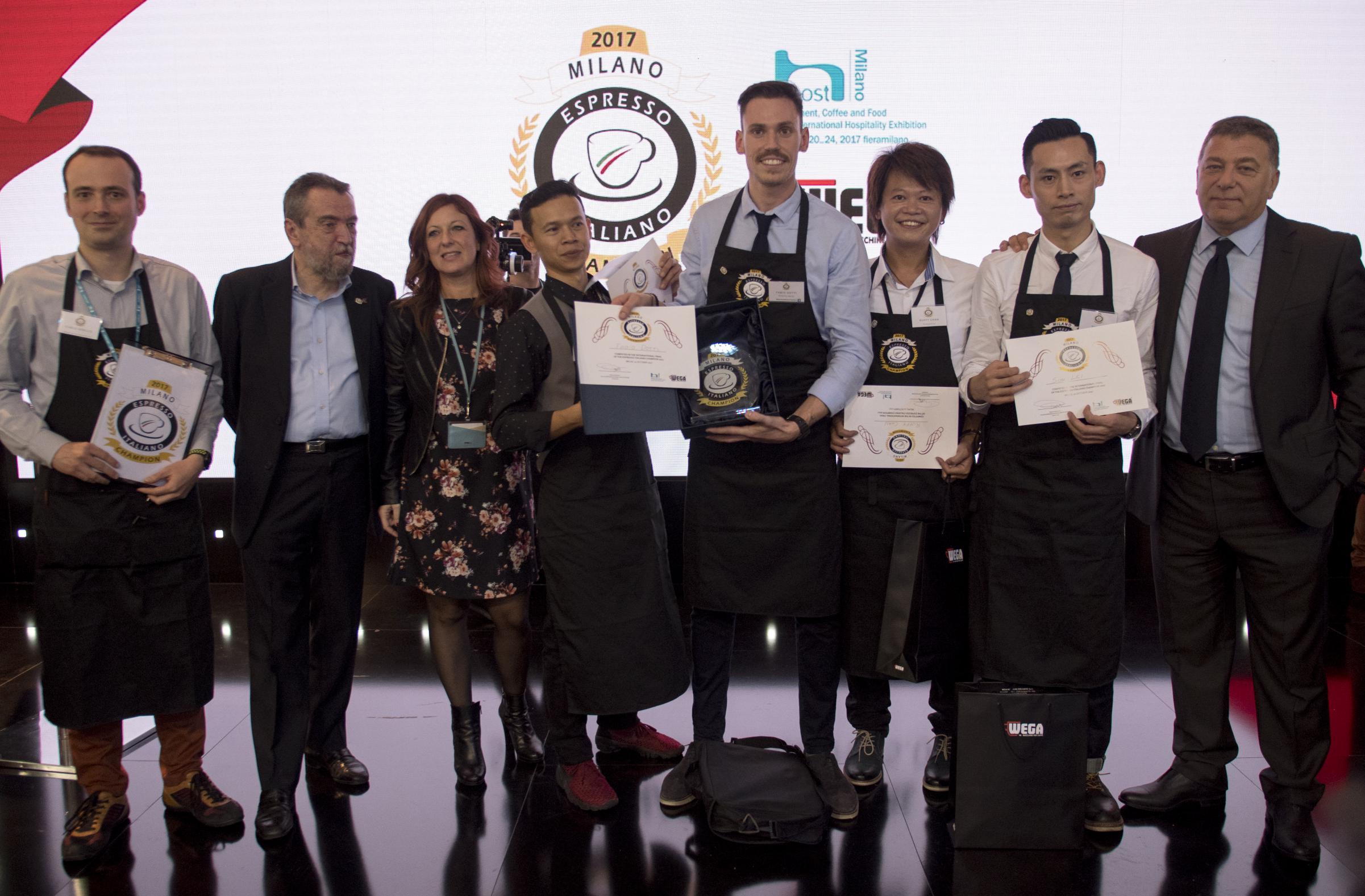 Fabio Dotti, Espresso Italiano Champion 2017