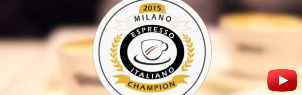 The finals of Espresso Italiano Champion 2015